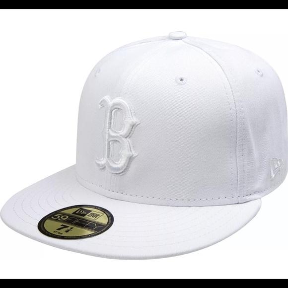 488c5ed131c New Era MLB Boston Red Sox Hat White 7 3 4